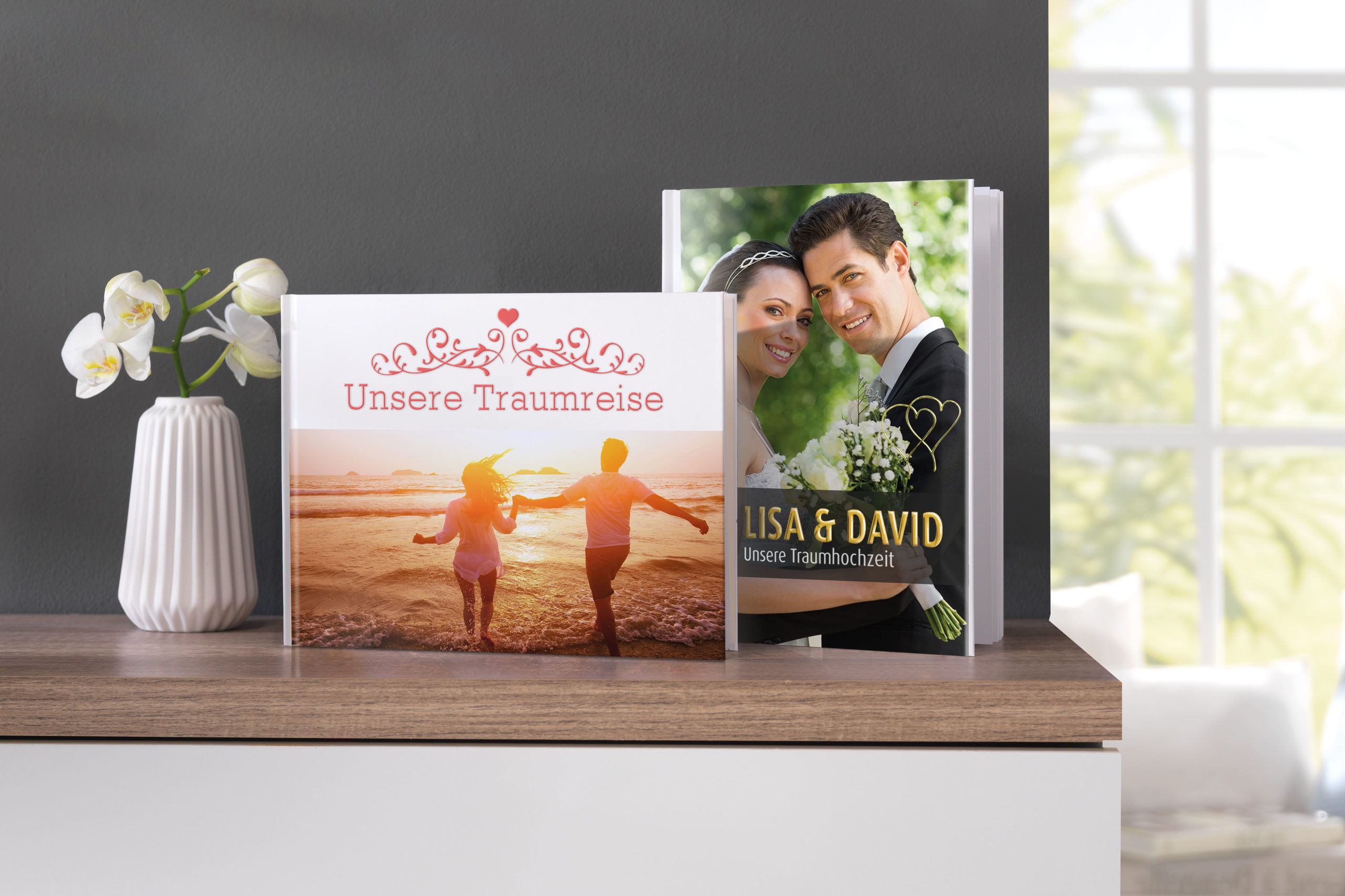 Fotobuch von der Hochzeit