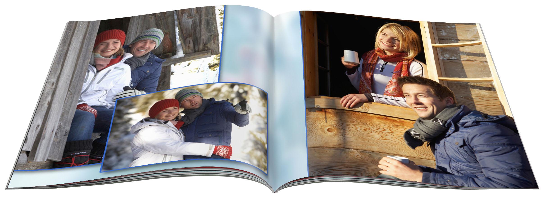 Fotobuch vom Winterurlaub