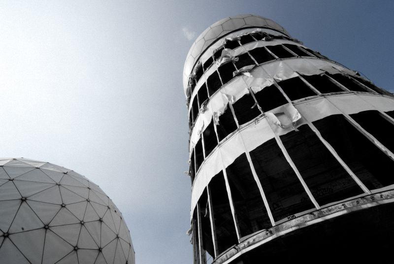 NSA Abhörstation auf dem Teufelsberg