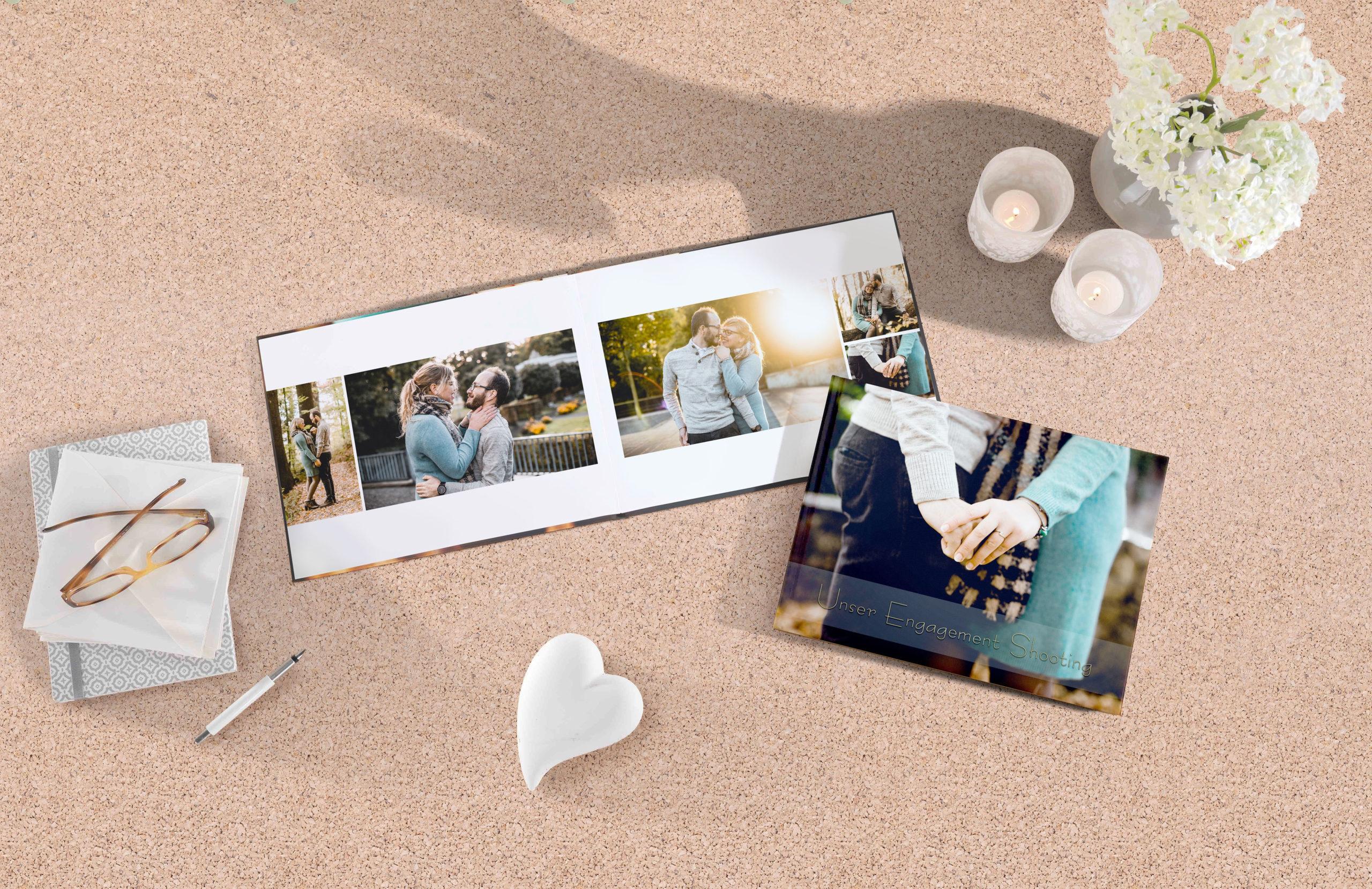 Verlobungsfotos als Fotobuch